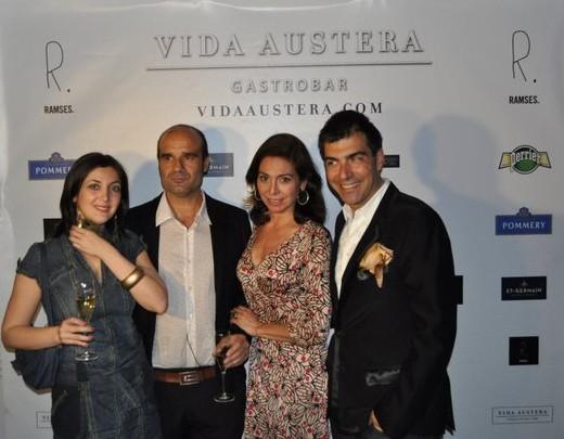 Inauguración gastrobar Vida Austera Premium en Ramses