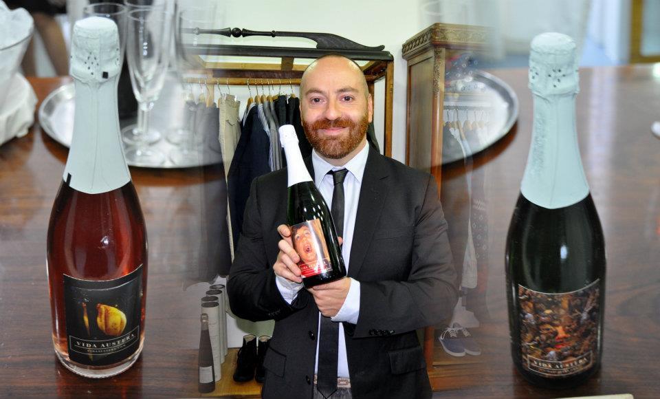 Presentación Champagne Vida Austera