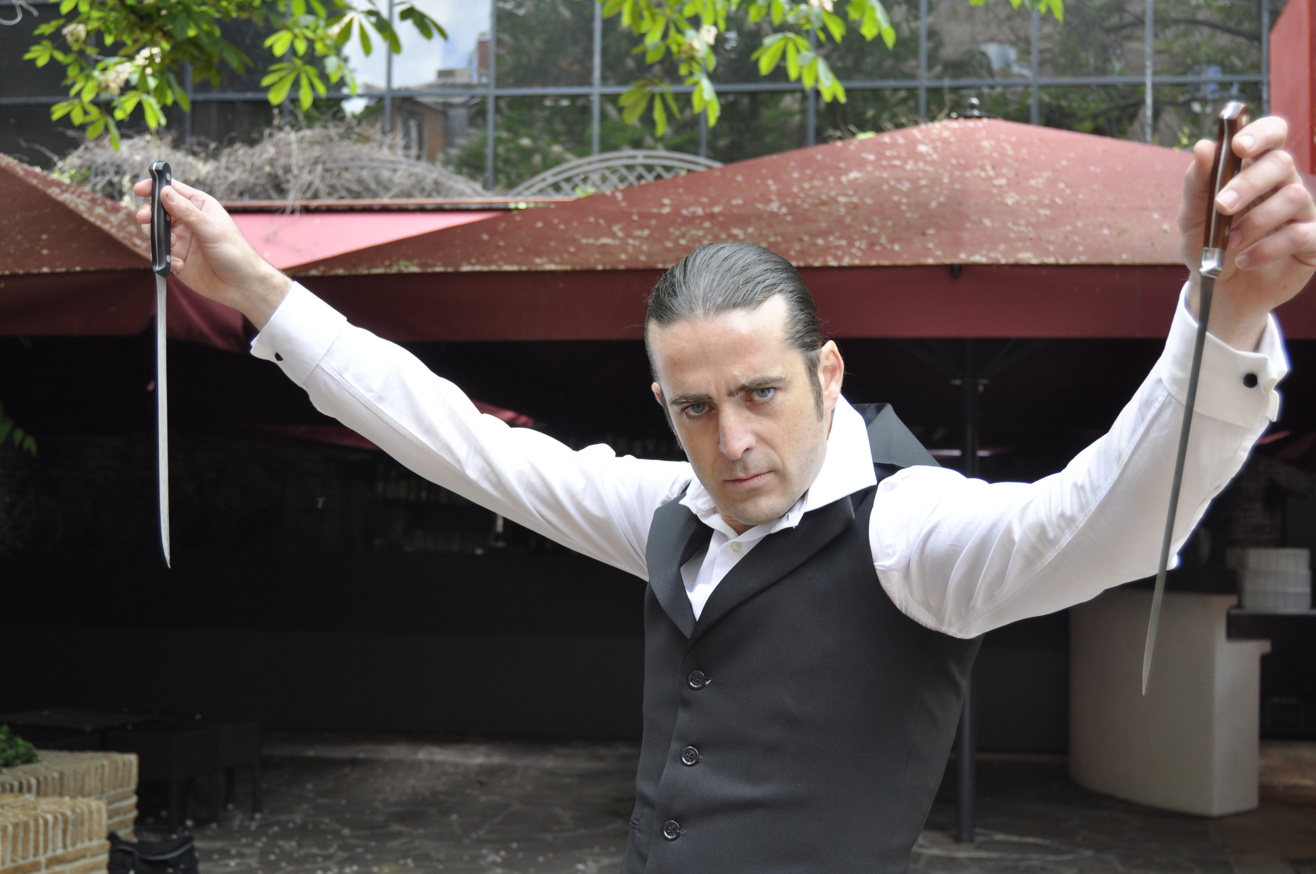 Emilio Ortigosa en Fortuny Restaurant