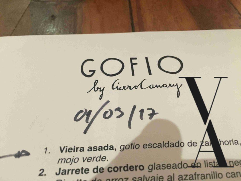 Gofio Madrid Restaurant