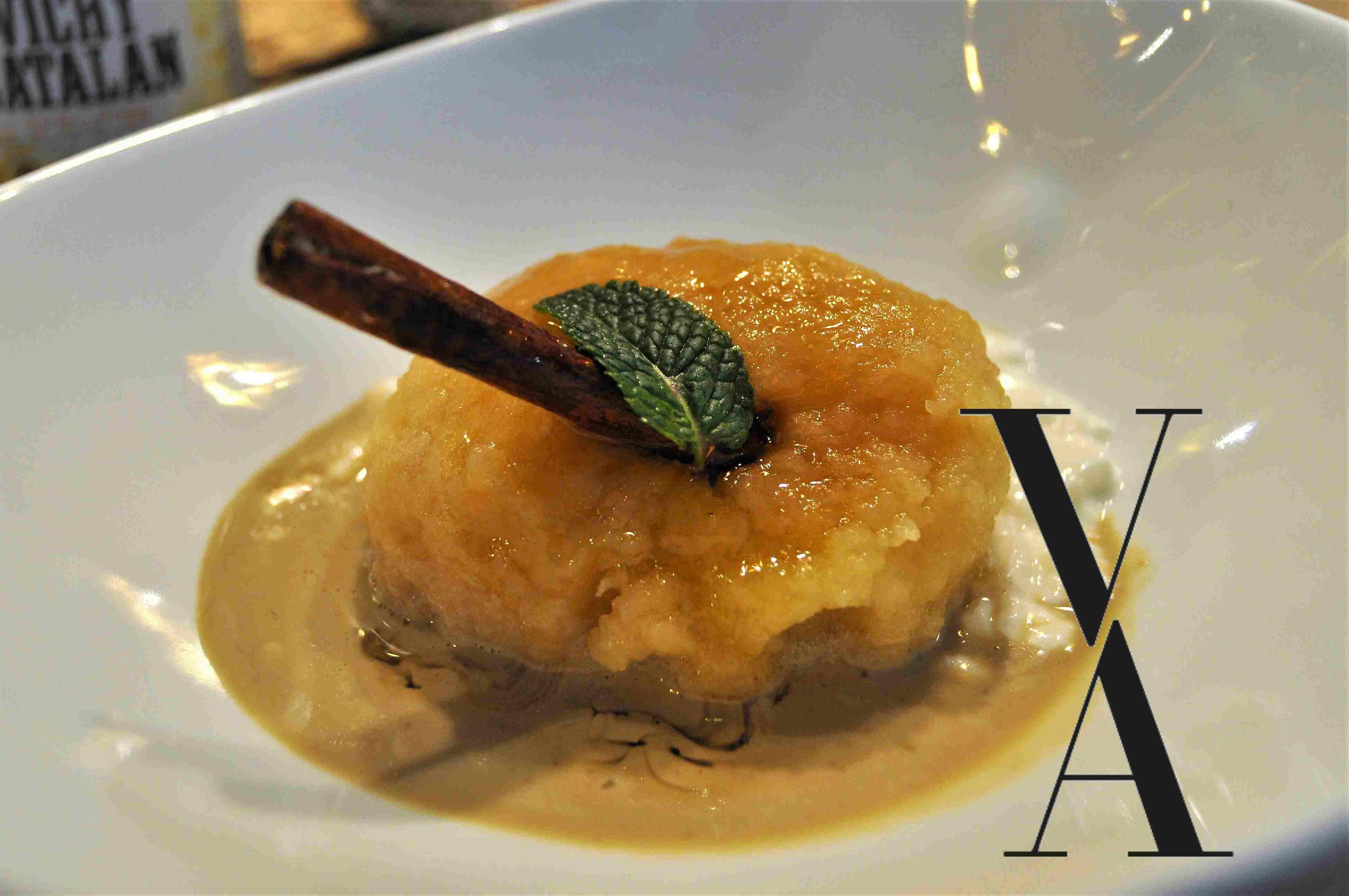Manzana Asada Restaurante Arado Madrid