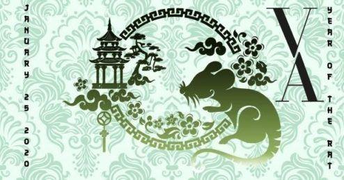 Año nuevo chino el ño de la rata