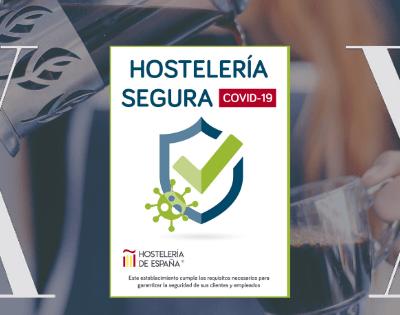 """""""Hostelería segura"""" Free Covid-19  distintivo que acreditará   a bares y restaurantes como lugares seguros"""